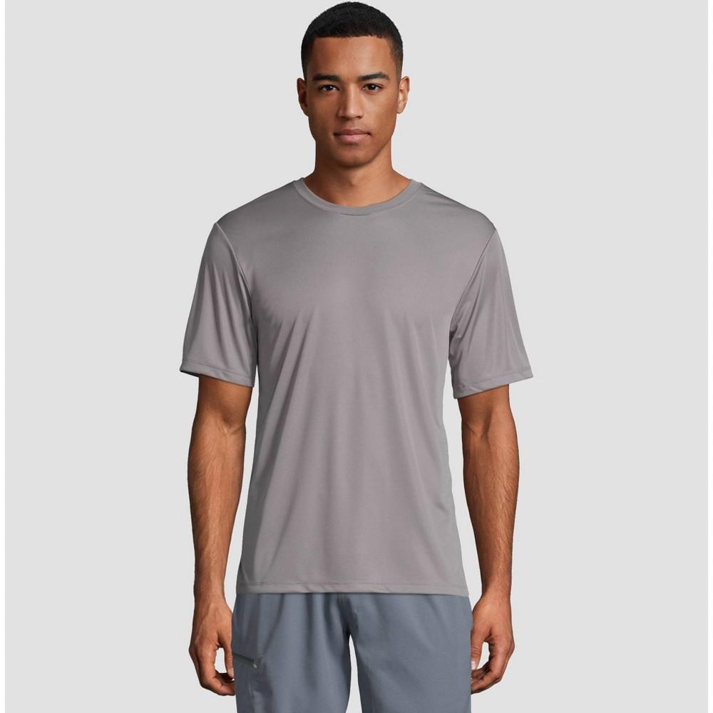Hanes Men's Short Sleeve CoolDRI Performance T-Shirt -Graphite S, Grey