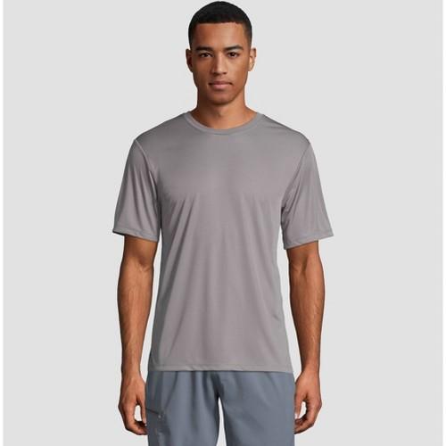 Hanes Men's Big & Tall Cool Dri Performance Short Sleeve T-Shirt -Gray 3XL