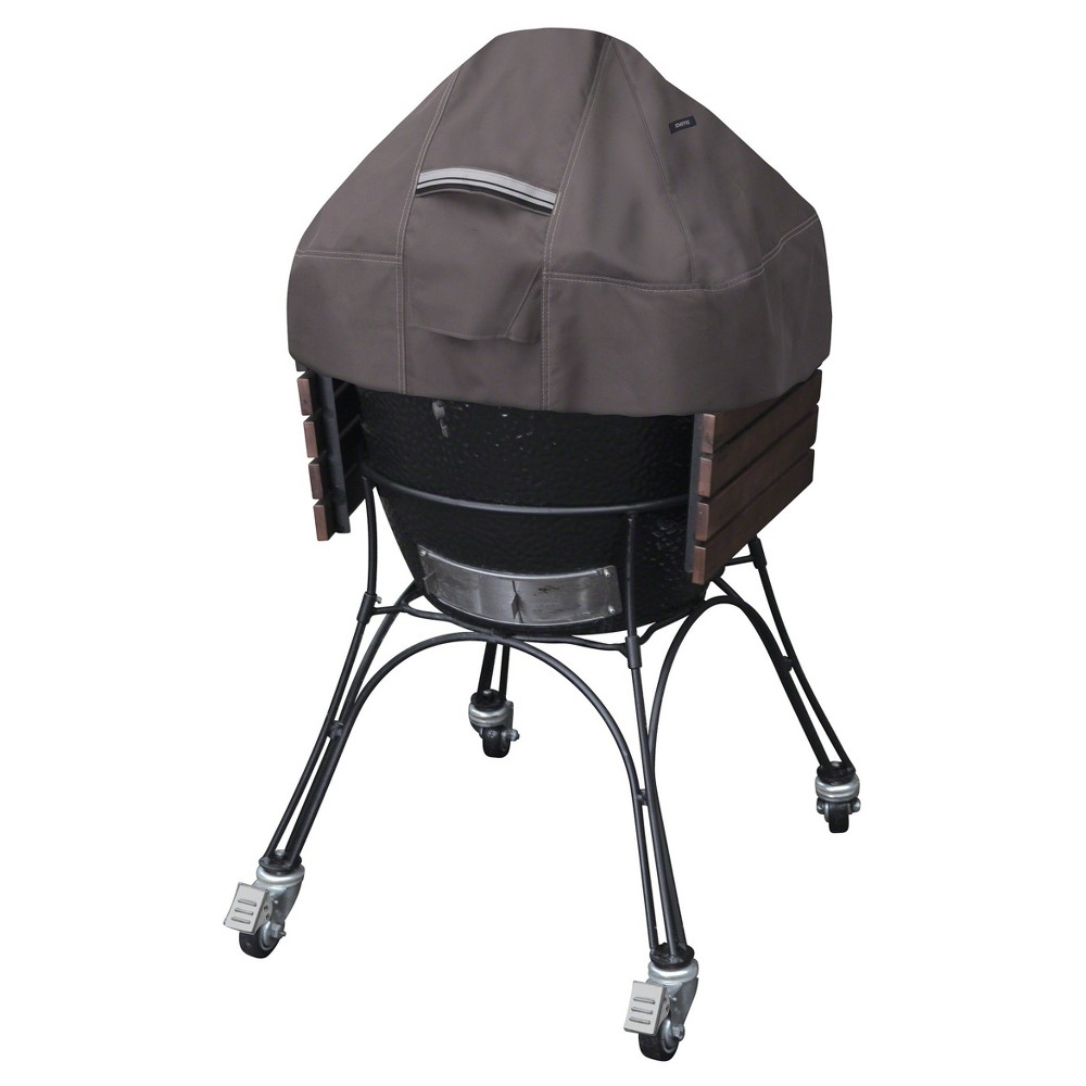 Ravenna Ceramic Grill Dome Cover – Dark Taupe – Classic Accessories 52092991