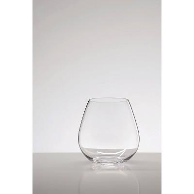 Riedel 22oz 2pk Crystal Vivant Pinot Noir Stemless Wine Glasses