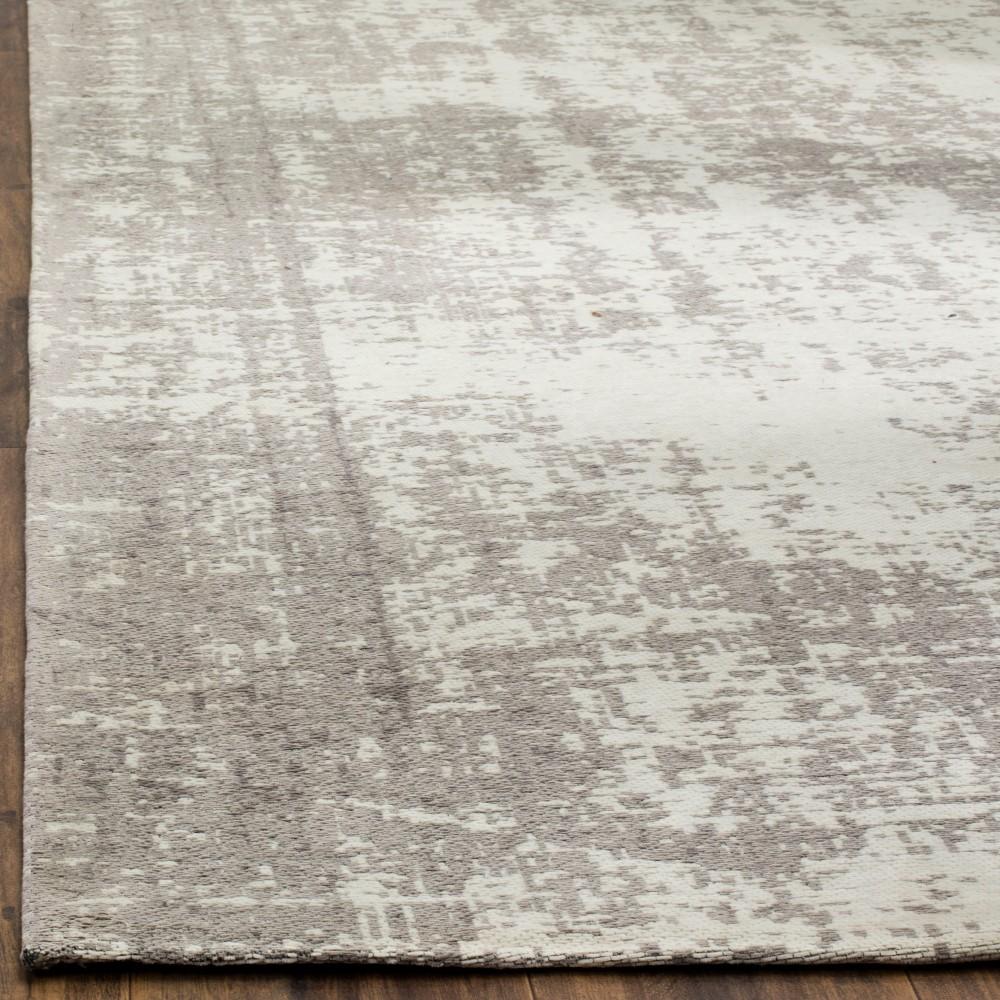 2'3x8' Multi Burst Loomed Runner Silver/Ivory - Safavieh