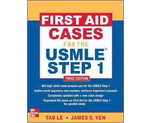 First Aid Cases for the USMLE Step 1 (Paperback) (Tao Le) - image 1 of 1