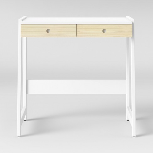 Kids Adjule Grow With Me Desk And Stool White Pillowfort Target