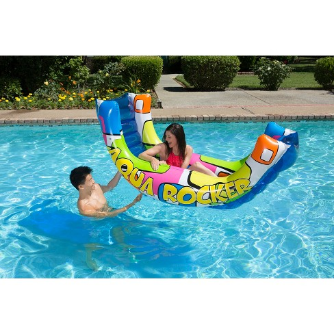Poolmaster Aqua Rocker Fun Float - image 1 of 3