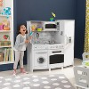 KidKraft Large Play Kitchen with Lights & Sounds - White - image 2 of 4