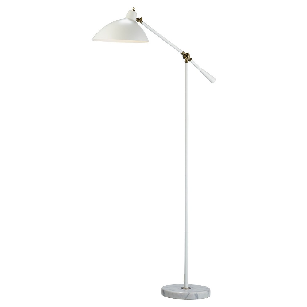 Image of Adesso Peggy Floor Lamp - White