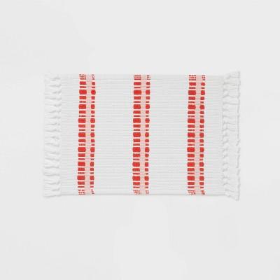 """17""""x24"""" Multi Striped Bath Rug - Opalhouse™"""