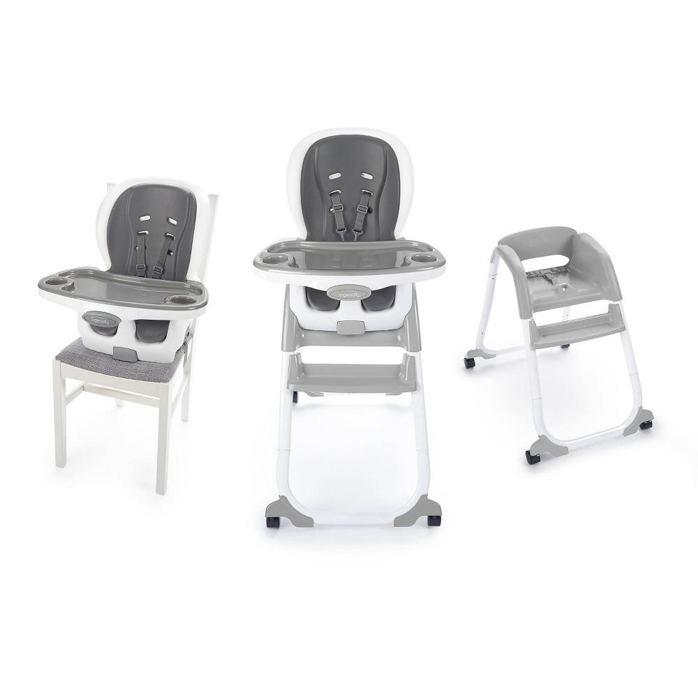Image of Ingenuity SmartClean Trio Elite 3-in-1 High Chair - Slate, Gray