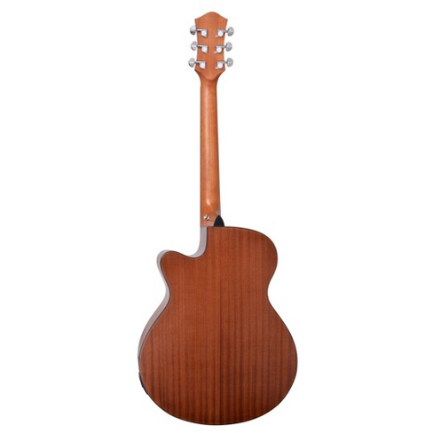 Spectrum Music 40 Acoustic Electric Cutaway Guitar With Bonus Amp