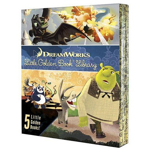 DreamWorks Little Golden Book Library 5 Copy Boxed Set - (Hardcover) - image 1 of 1
