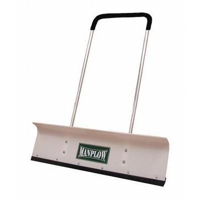 """MANPLOW PRO42 42"""" HDPE Snow Shovel with 48"""" Aluminum Handle"""