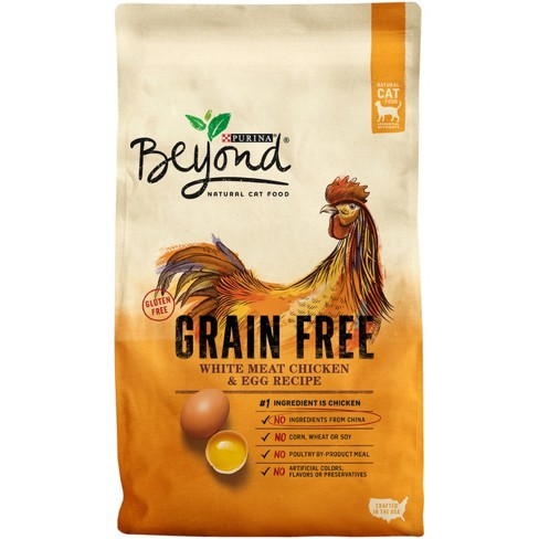 Purina Beyond Cat Food >> Purina® Beyond Grain Free White Meat Chicken & Egg Recipe Dry Cat Food - 3lbs : Target