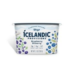 Icelandic Provisions Blueberry & Bilberry Skyr Yogurt - 5.3oz