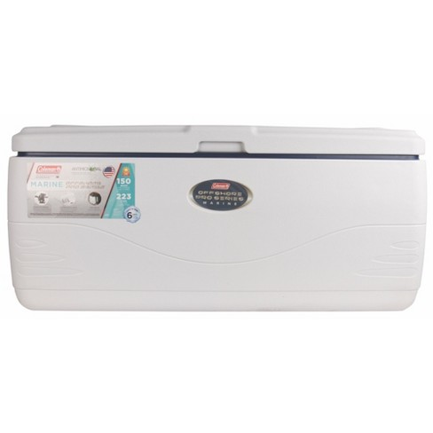 Coleman 150qt Pro Series 6-Day Offshore Marine Cooler - White - image 1 of 4