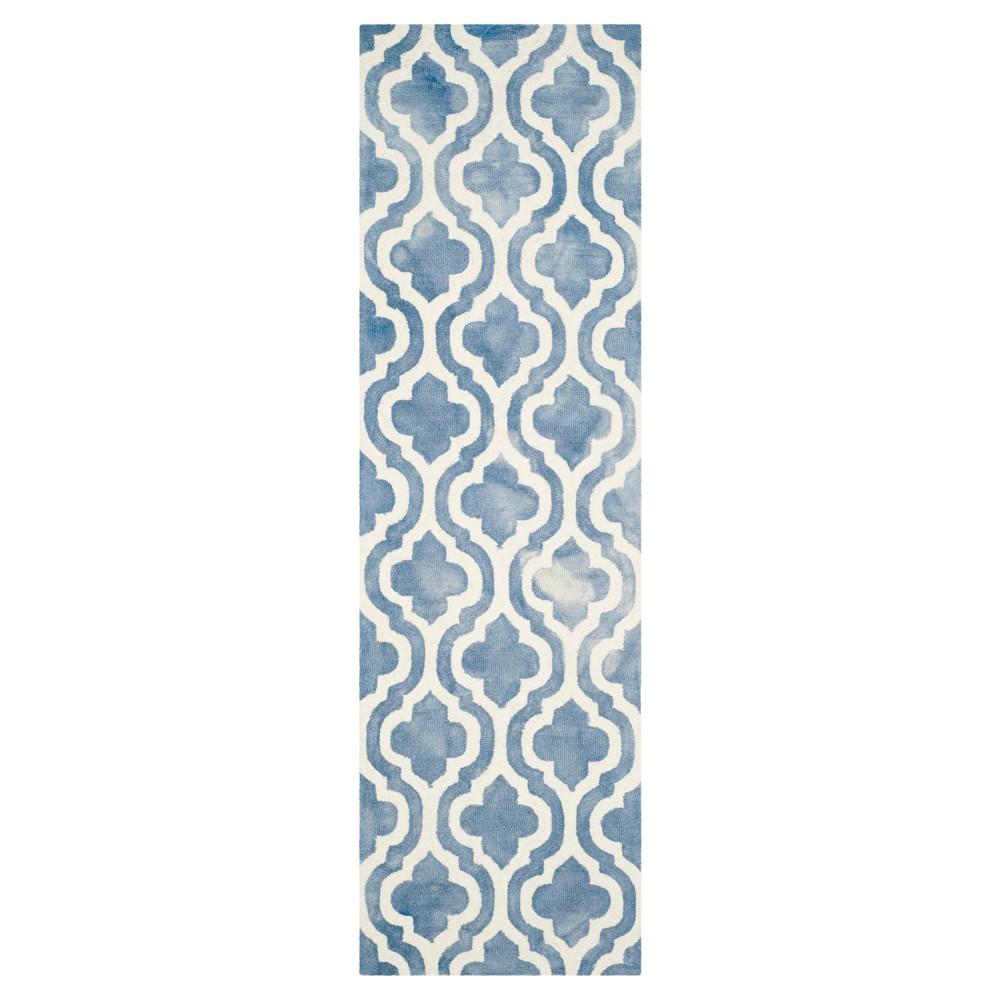 Harper Accent Rug - Blue / Ivory (2'3 X 8') - Safavieh, Blue/Ivory