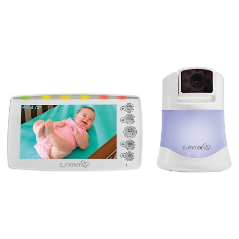"Summer Infant® 5"" Panorama Video Baby Monitor with Pan, Scan, and Zoom - image 1 of 8"