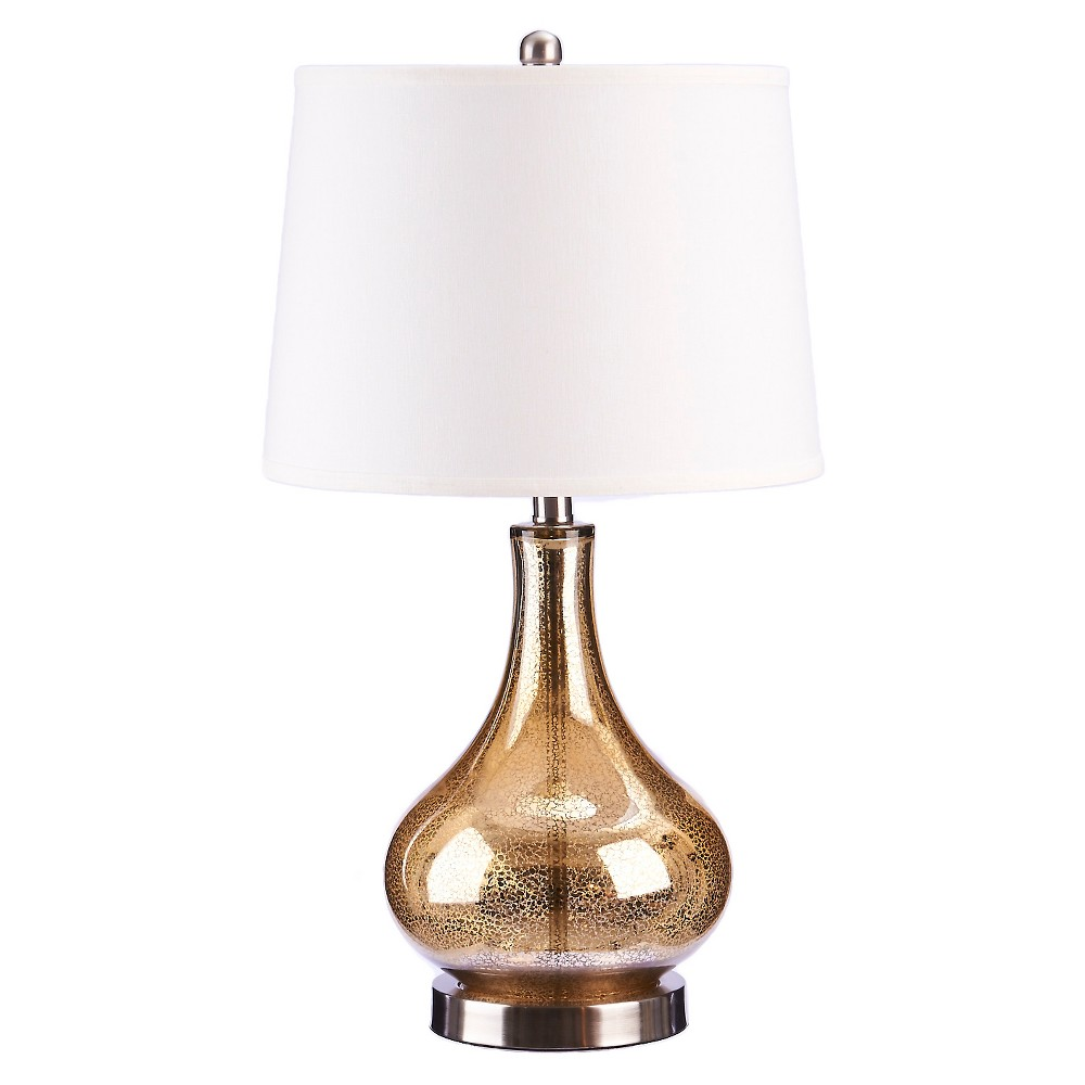 Image of Catalina Mackenzie Table Lamp (Lamp Only), Gold