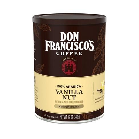 Don Francisco's Vanilla Nut Flavored Medium Roast Ground Coffee - 12oz - image 1 of 4