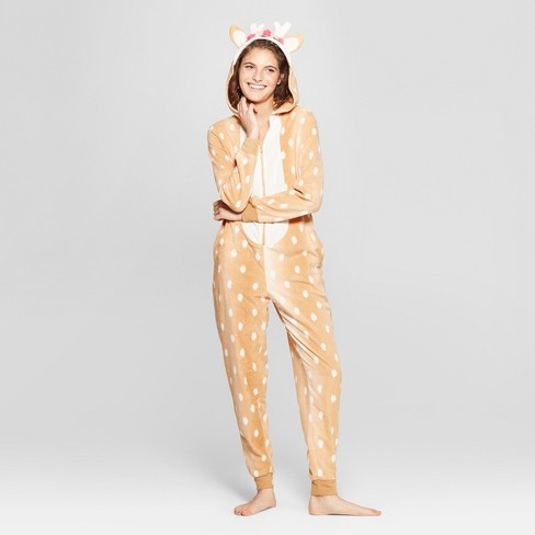 Women s Fawn Union Suit - Xhilaration™ Tan   Target 12d34893f