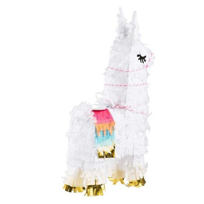Juvale Llama Pinatas for Kids Birthday Party, Cinco De Mayo (10.5 x 5 in, 3 Pack)