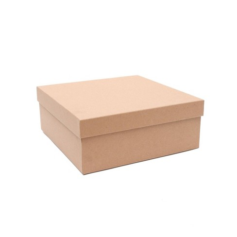 Recycled Paper Kraft Gift Box - Spritz™ - image 1 of 3