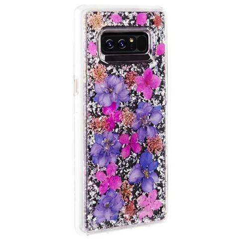 the latest dd57e c9de7 Case-Mate Samsung Galaxy Note8 Purple Karat Petals Case