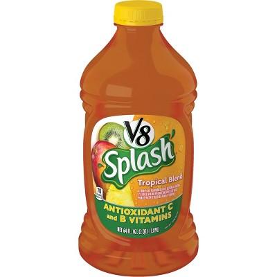V8 Splash Tropical Blend Juice - 64 fl oz Bottle
