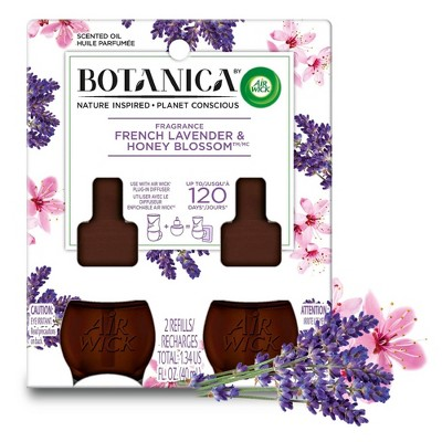 Botanica Scented Oil Twin Refill - French Lavender & Honey Blossom