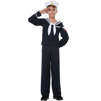 California Costumes Navy/Sailor Boy Child Costume