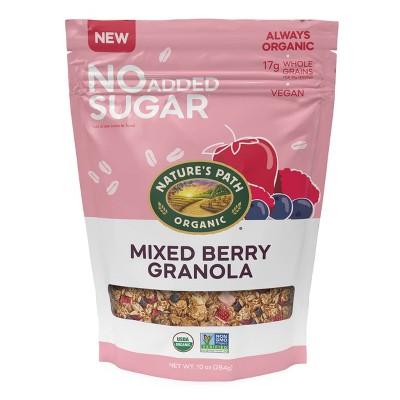 Nature's Path No Added Sugar Granola Mixed Berries - 10oz