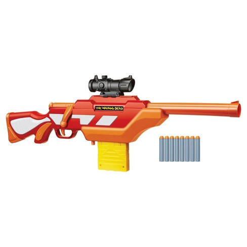 air warriors the walking dead andrea s rifle blaster target