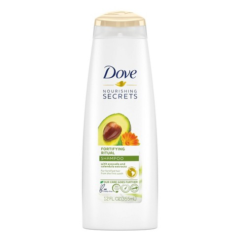 Dove Beauty Nourishing Secrets Fortifying Ritual Avocado Shampoo - 12 fl oz - image 1 of 4