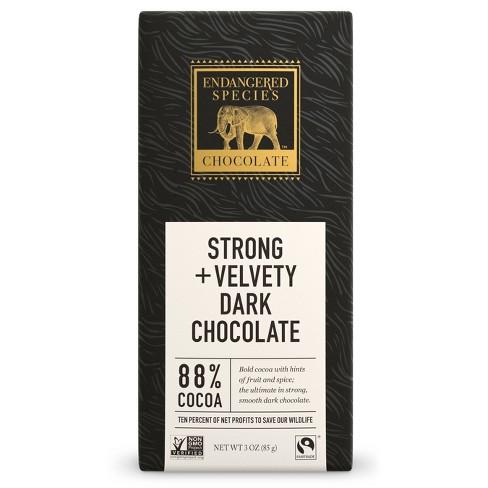 Endangered Species Chocolate Natural Dark Chocolate - 3oz - image 1 of 2