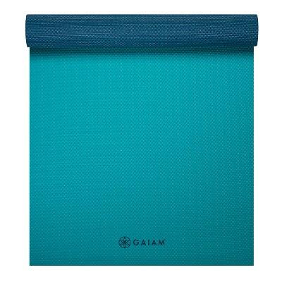 Gaiam Yoga Mat - Blue (4mm)