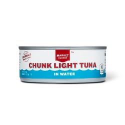 Chunk Light Tuna in Water 5 oz - Market Pantry™