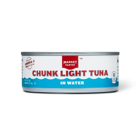 Chunk Light Tuna in Water 5 oz - Market Pantry™ - image 1 of 1