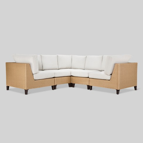 Fullerton 5-Piece Wicker Patio Sectional - Project 62™ - image 1 of 4