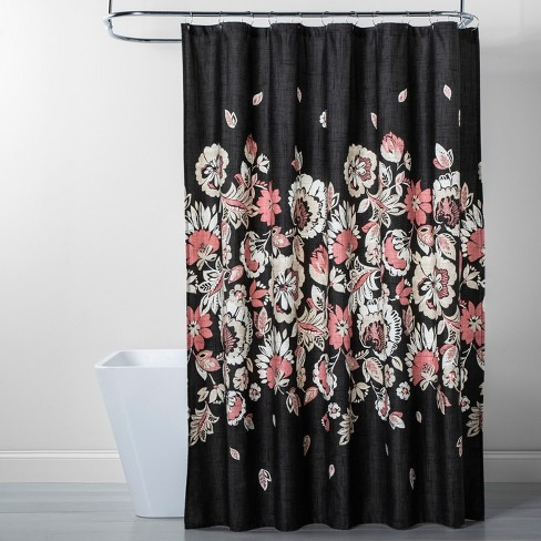 Floral Shower Curtain - Threshold™ - image 1 of 2