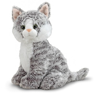 Melissa & Doug® Greycie Tabby Cat Stuffed Animal