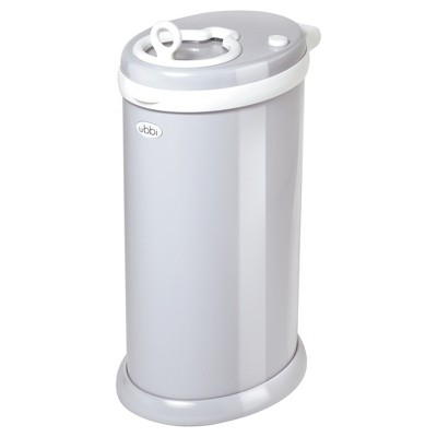 Ubbi Steel Diaper Pail - Grey
