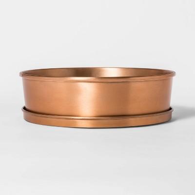 12  x 3.6  Metal Planter Bowl Copper - Smith & Hawken™