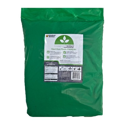 Wakefield HERO Blend 1 Cubic Foot Biochar Organic Garden Compost Bag with Mycorrhizal Fungi