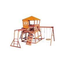 Little Tikes Real Wood Adventures Wolf Mountain Outdoor Playset