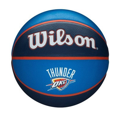 NBA Oklahoma City Thunder Tribute Full Size Basketball