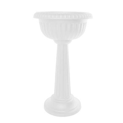"""32"""" Grecian Urn Tall Pedestal Planter - Bloem"""
