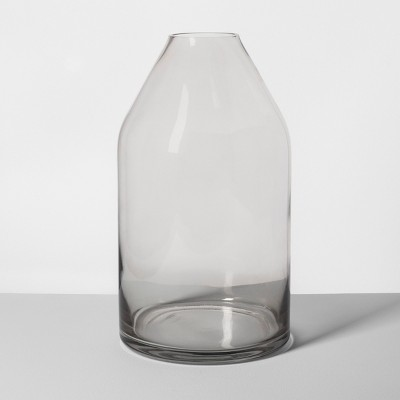 Glass Jug Vase Large Smoke - Hearth & Hand™ with Magnolia