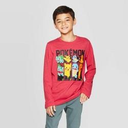 Boys' Pokemon Battle Mode T-Shirt - Red