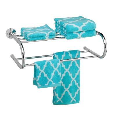 Wall Mount Towel Rack Chrome - Honey Can Do