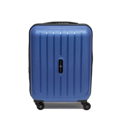 "FUL Pure 21"" Carry On Rolling Suitcase - Blue"