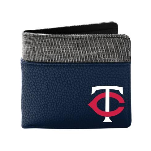 MLB Minnesota Twins Pebble BiFold Wallet - image 1 of 2